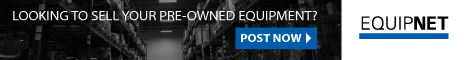 EquipNet Auction: Sell your surplus on our global marketplace: No cost to list equipment!